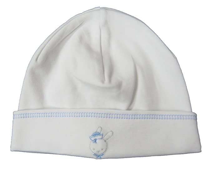 b5f6c465c6e Amazon.com  Kissy Kissy Baby-Boys Infant Second Mate Hat-White With ...