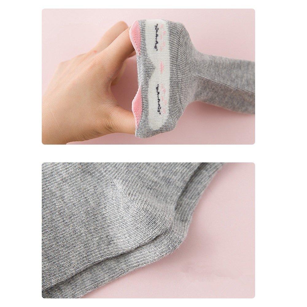 Baby Girls Socks 6 Pairs Infant Newborn Toddler Cute Animal Socks 0-1 Years