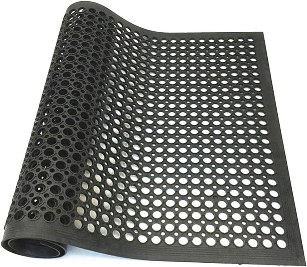"smabee Anti-Fatigue Non-Slip Rubber Floor Mat Heavy Duty Mats 36""x60"" for Indoor Restaurant Kitchen Bar Bathroom"