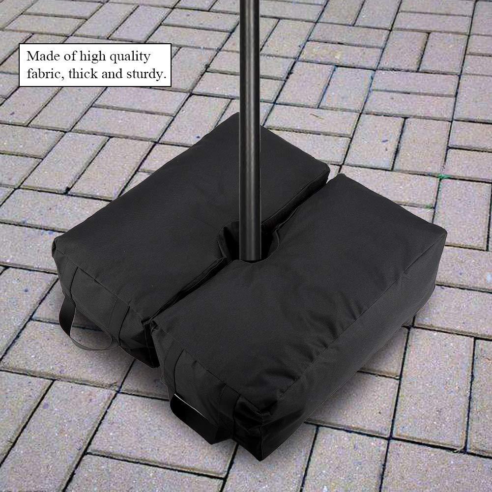 Base para sombrilla base cuadrada para sombrilla bolsa de peso de arena para sombrilla de patio
