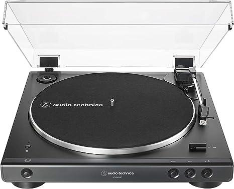 Amazon.com: Audio-Technica AT-LP60XBT-BK - Tocadiscos ...