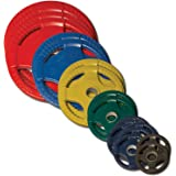 Body-Solid 355 Pound Colored Rubber Grip Plate Set