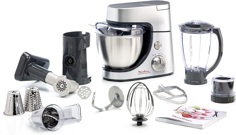 Robot de cocina Moulinex QA503DB1 para repostería: Amazon.es: Electrónica
