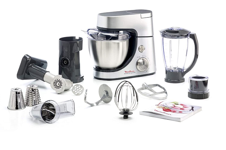 Robot de cocina Moulinex QA503DB1 para repostería: Amazon.es ...