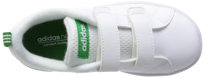 best service d1dba 93e07 Adidas Vs Adv Cl Cmf Inf, Scarpe da Fitness Unisex - Bambini, Bianco  (Footwear WhiteGreen), 20 EU MainApps Amazon.it Scarpe e borse