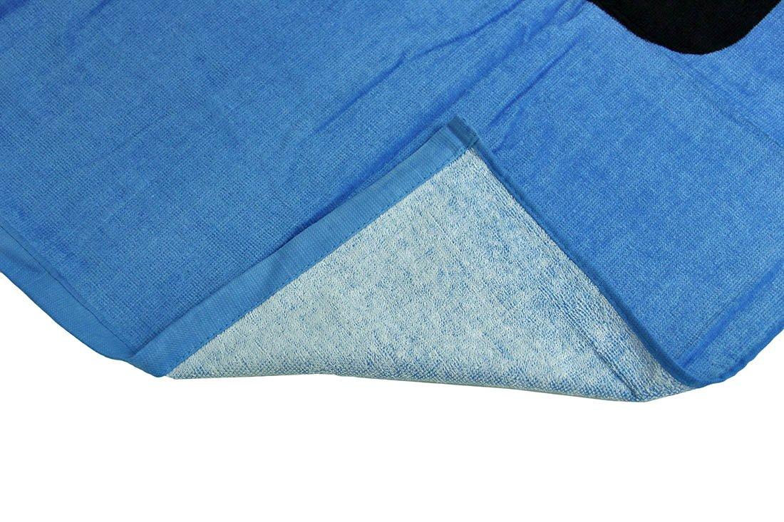 Quiksilver azul brillante algodón toalla de playa (28 x 58 en.: Amazon.es: Hogar