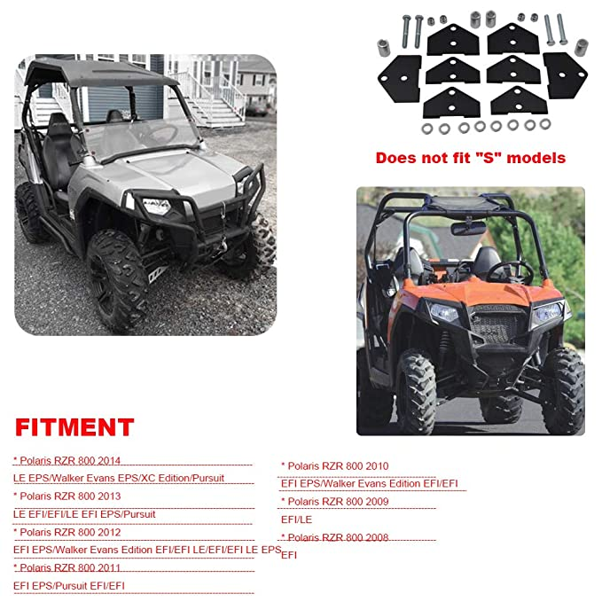 """Polaris RZR ATV 3/"""" Lift Kit RZR800 RZR 800 EFI"""