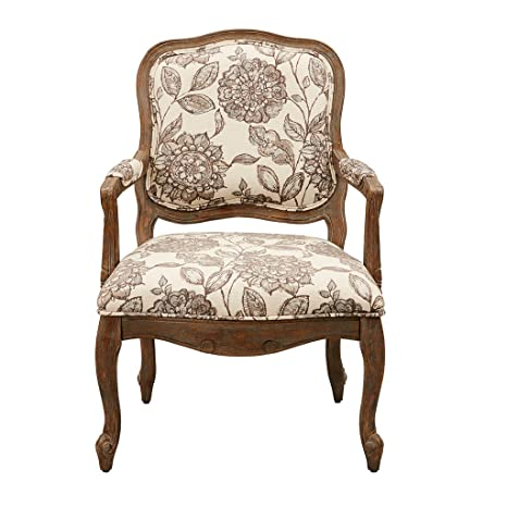 Enjoyable Madison Park Fpf18 0501 Monroe Accent Chairs Hand Carving Birch Wood Frame Deep Seat Bedroom Lounge Modern Classic Camel Back Style Living Room Sofa Ncnpc Chair Design For Home Ncnpcorg