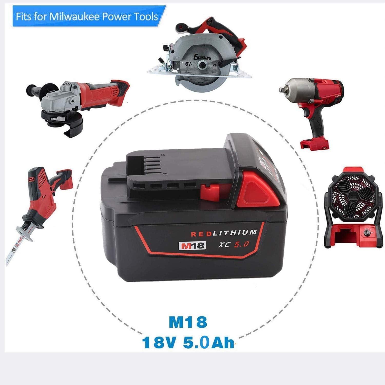 Exmate non per batterie NI-MH//NI-Cd Caricatore 18 V per batterie al litio Gardena 9840-20 8878-20 8025-20 18 V