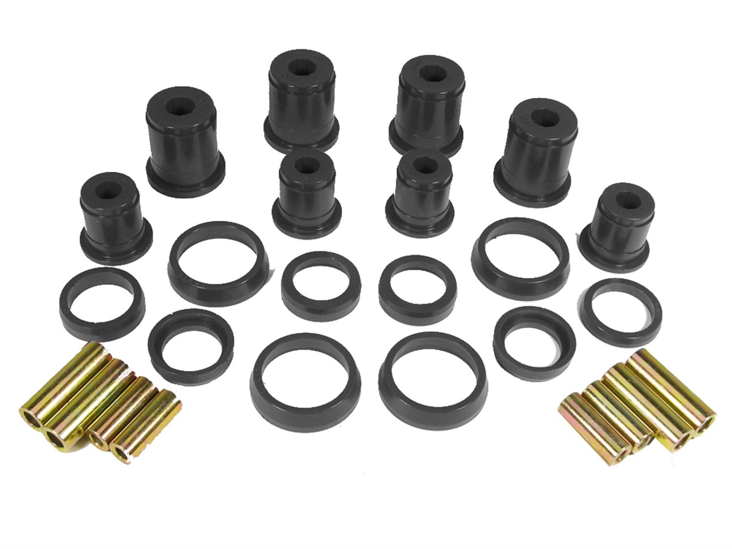 Prothane 1-204-BL Black Control Arm Bushing Kit for Jeep TJ