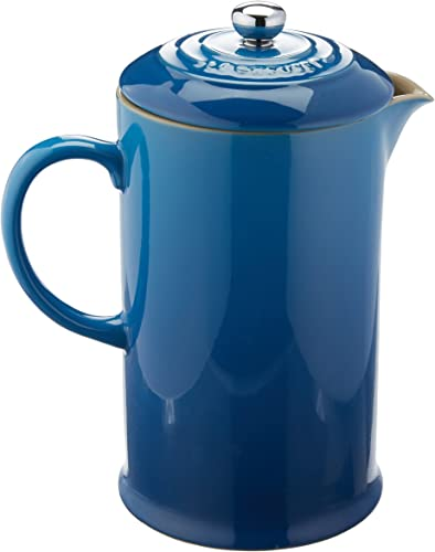 Le Creuset PG8200-1059 Stoneware French Press Coffee Maker