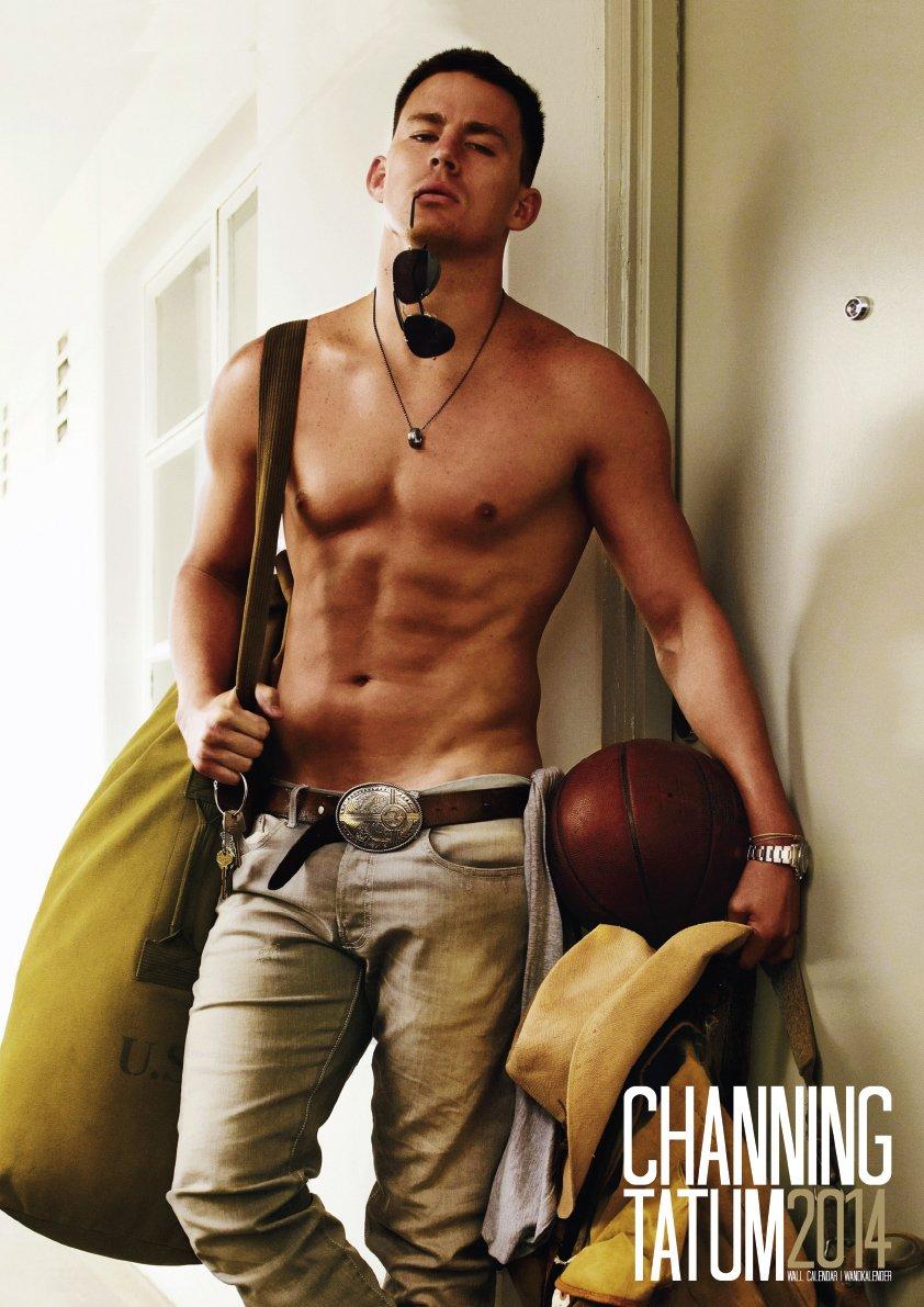 Channing Tatum Kalender 2014