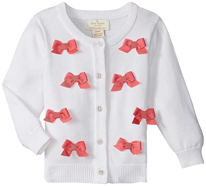 Amazon.com: kate spade new york para bebé niña lazo chaqueta ...