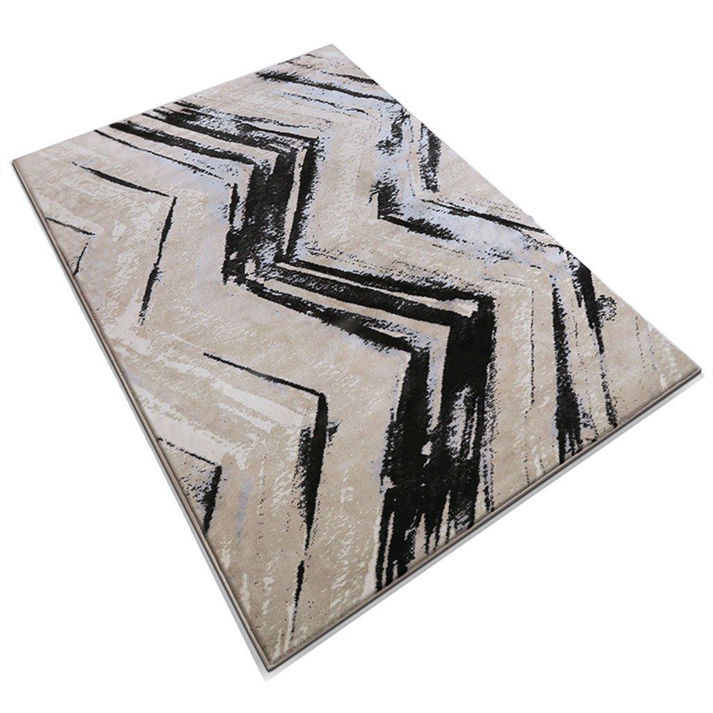 GYP クラシックマッシュアップリビングルームコーヒーテーブルベッドルームカーペット ( 色 : A , サイズ さいず : 120*170CM )   B078M5HJ4H