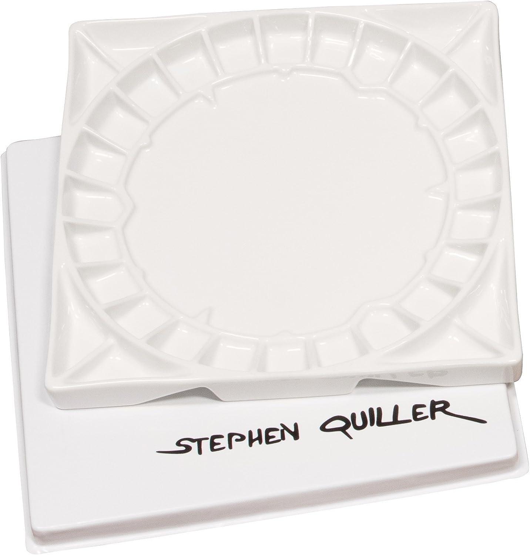 Stephen Quiller Porcelain Palette 13X13 Inch