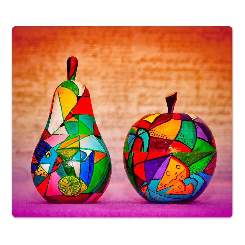 'Cubiertas de cristal decorativa