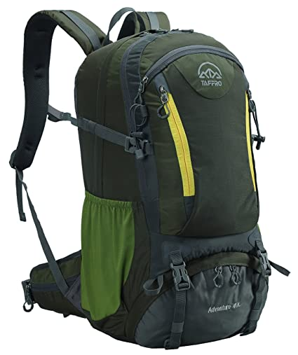 2c43923a8827 Tappro Lightweight Packable Hiking Backpack with Rain Cover for Travel  Climbing Camping Mountaineering Backpacking