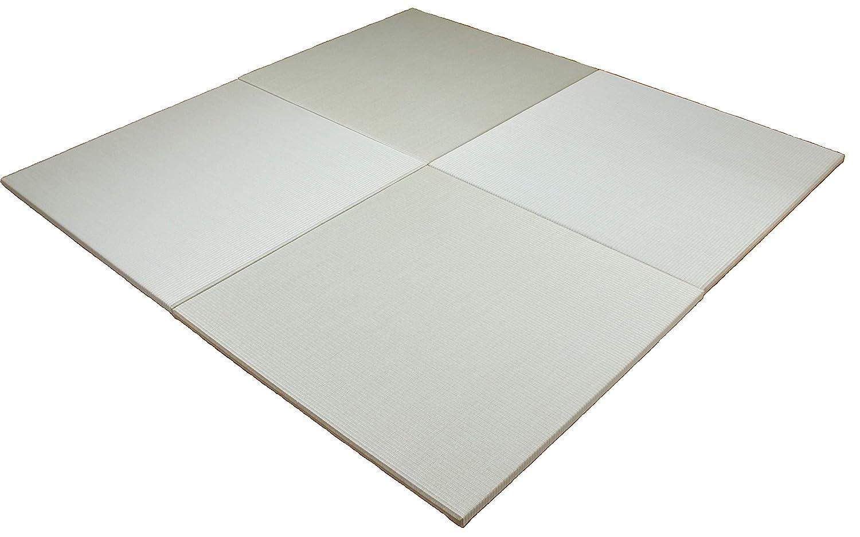 琉球畳風 縁無し置き畳 『座90』 6枚組 1枚のサイズ:900mm×900mm 厚み:25mm B0041UZUNW