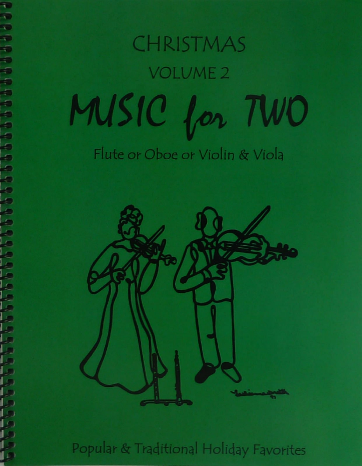 Music for Two, Christmas Volume 2 for Flute or Oboe or Violin & Viola