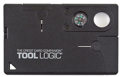 Tool Logic Credit Card Companion with Lens/Compass CC1SB - 9