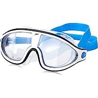 Speedo 8-11775C750 Biofuse Rift Mask Swimming Goggles, Bondi Blue/White/Clear