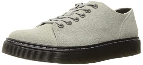Dr. Martens Men's Dante Wooly Bully Oxford, Grey, 4 UK5 M