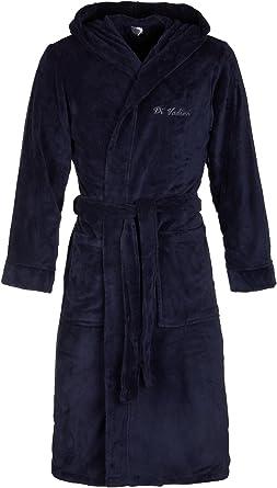 in microfibra /Öko-Tex Standard 100 I Kimono con colori e dimensioni a scelta 5XL Accappatoio unisex Florenz con cappuccio XXS Di Vadini