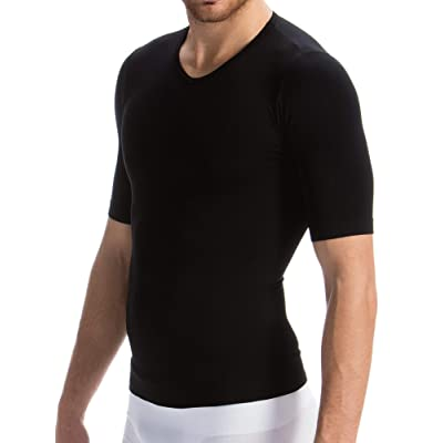 FarmaCell Man 419H Men's Firm Control Body Shaping T-Shirt with Heat Thermal and Protective Yarn at Amazon Men's Clothing store