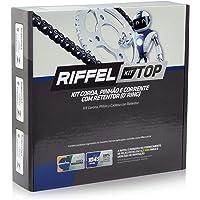 Kit Relação Transmissão Honda NXR Bros 160 / Xre 190 Com Retentor (O-ring) TOP Aço 1045 Riffel 91190