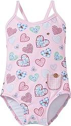 0ff613f818 Sunuva Girls' Patchwork Heart Swimsuit