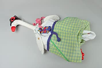 Juguete de tela Ganso para guardar bolsas de plástico ...