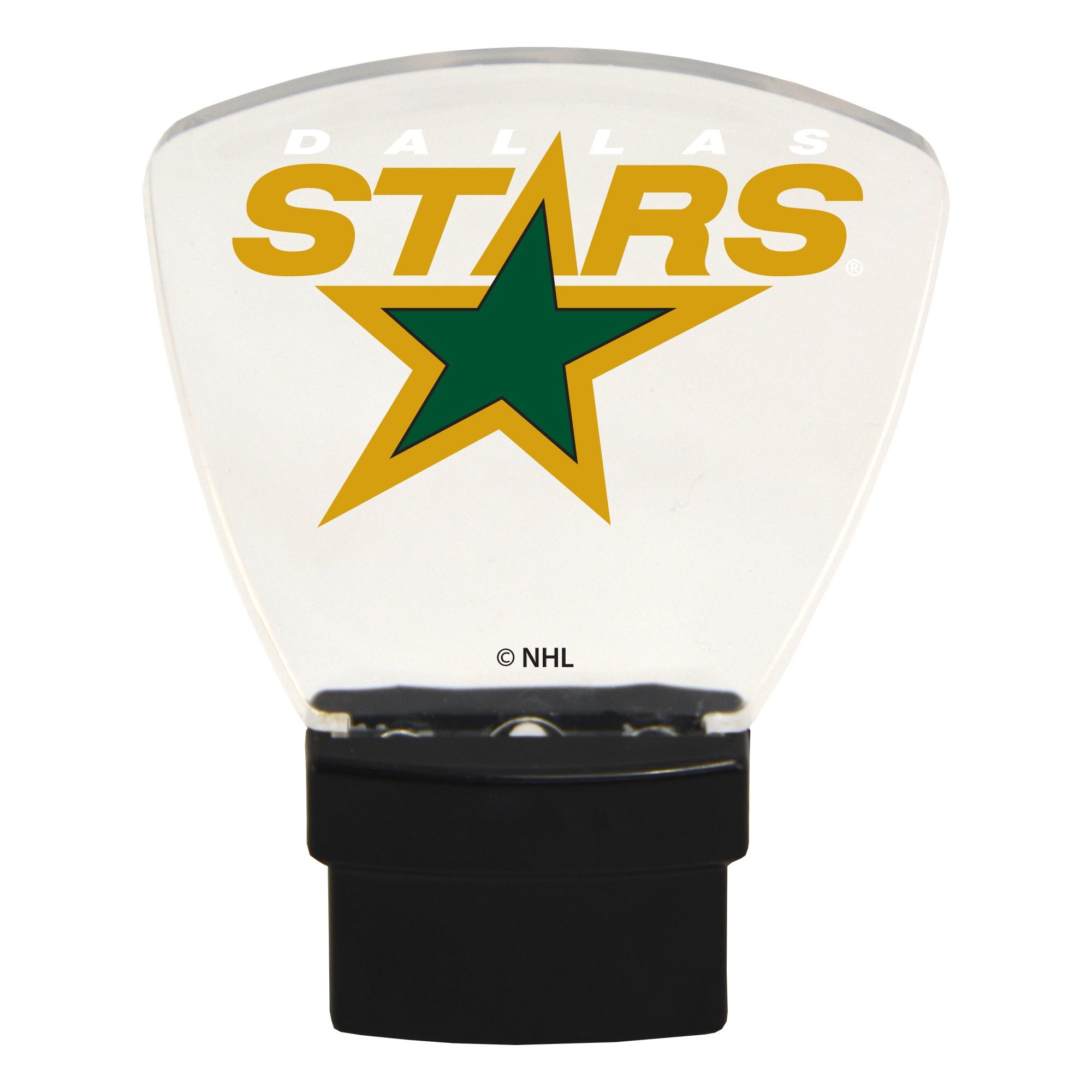 Authentic Street Signs NHL Officially Licensed-LED NIGHT LIGHT-Super Energy Efficient-Prime Power Saving 0.5 watt, Plug In-Great Sports Fan gift for Adults-Babies-Kids Room … (Dallas Stars)