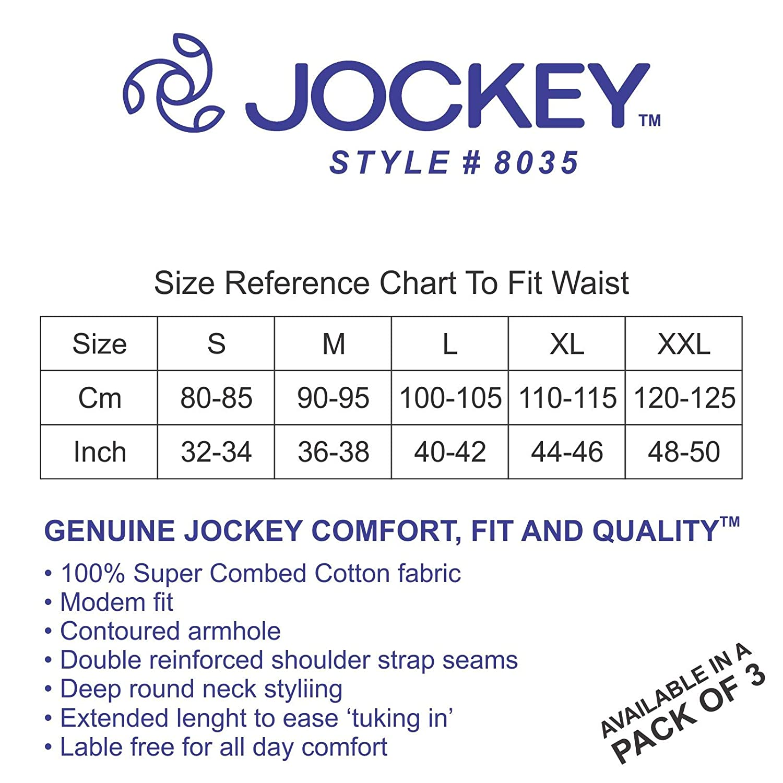 Jockey Men S Modern Classic Square Cut Poco Briefs 8035 Pack Of 3