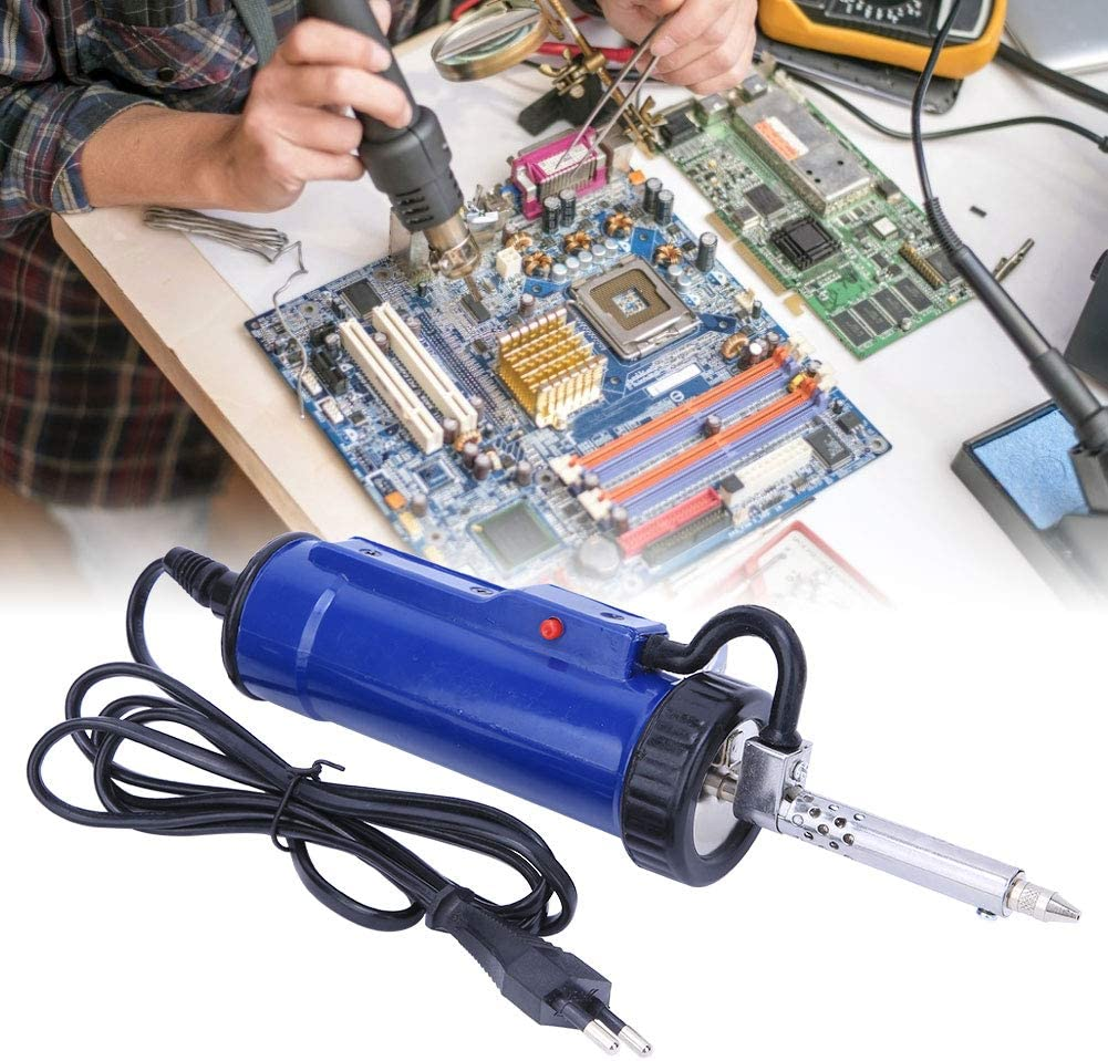 GAESHOW 3 30W outil de pompe /à dessouder compl/ètement automatique /à souder /électrique prise ue 250V outil de retrait de soudure pompe /à dessouder