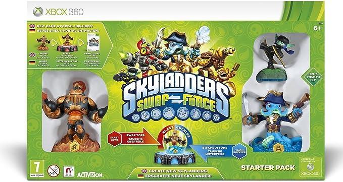 Skylanders Swap Force - Starter Pack [Importación Inglesa]: Amazon ...