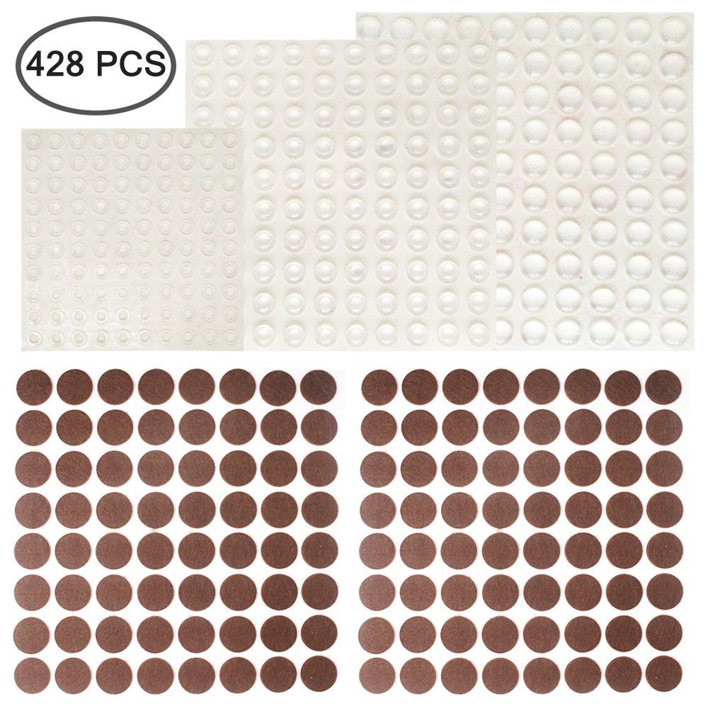 300 pcs cabinet door bumpers and 128 pcs furniture pads finegood rh rocor de
