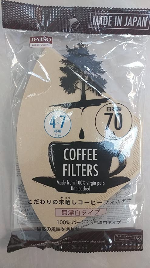 Daiso Coffee Dripper Filter for 1 Cup (12pcs Coffee Dripper)