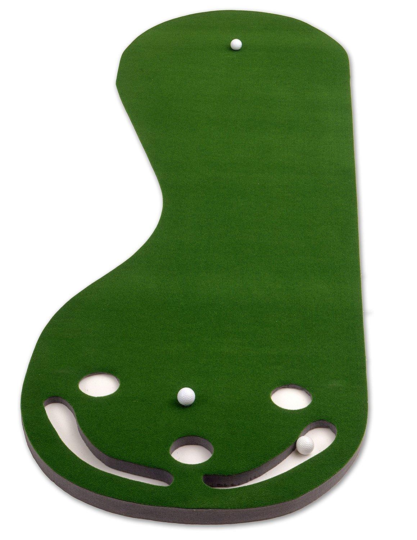 Putt-A-Bout Deluxe Par 1 Putting Mat with Cup Green 2 x 9-Feet [並行輸入品]   B074DG4TQT
