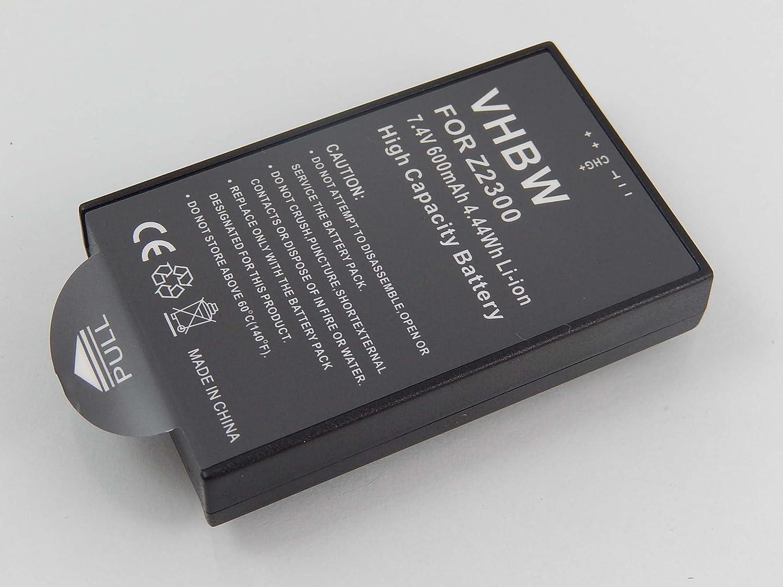 ee3aedbb8ab95 vhbw Li-Ion Battery 600 mAh for Camera Digital DSLR: Amazon.co.uk:  Electronics