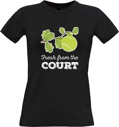 Tennis T Shirt pour Femme des Nouvelles fraîches du Tribunal
