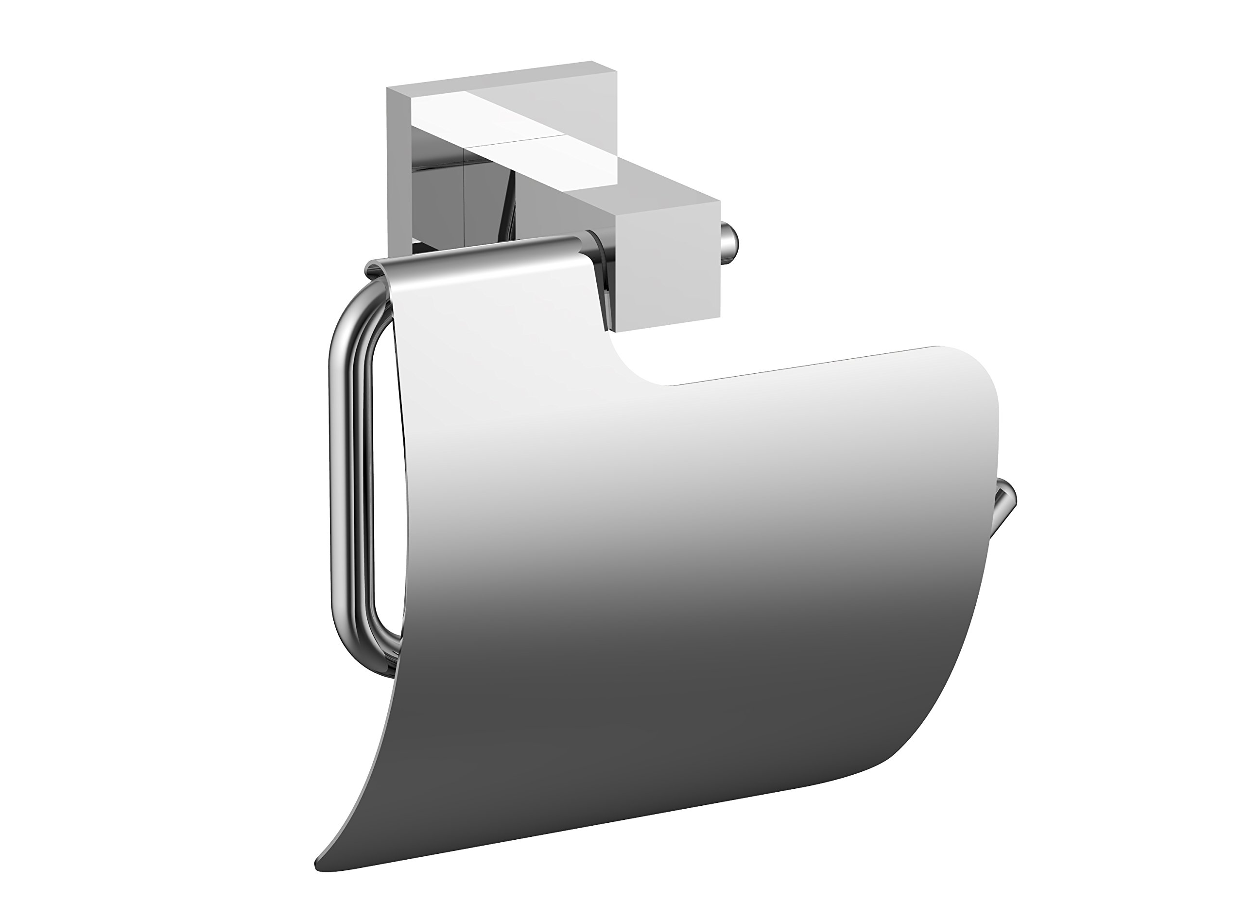 Eviva EVAC62CH Toilet Paper Holdy Toilet Paper Holder Bathroom Accessories Combination, Chrome