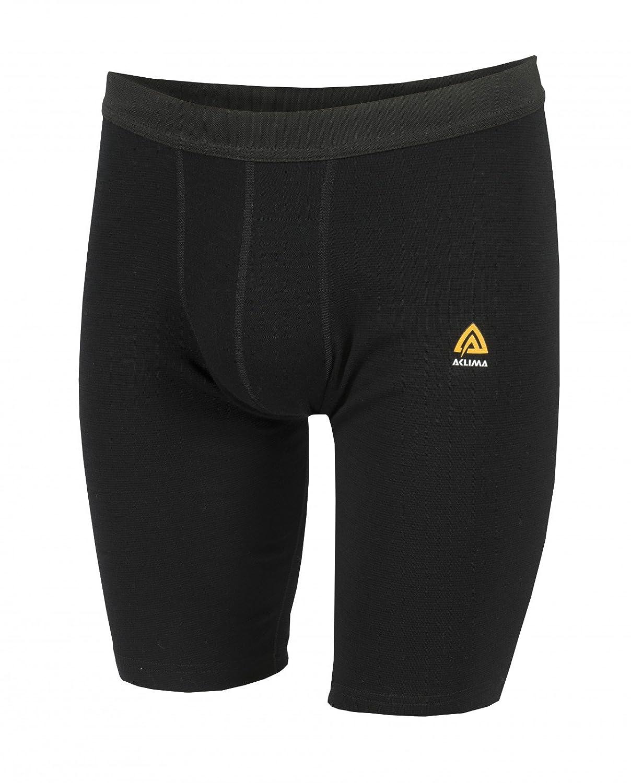 Aclima WarmWool Shorts Men Jet schwarz 2018 Unterwäsche