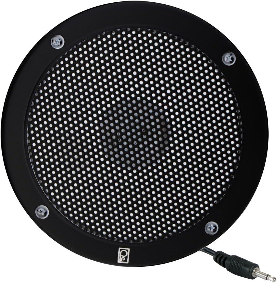 """Poly-Planar 5"""" VHF Extension Speaker - Flush Mount - (Each) Black"""