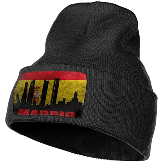 coupon codes for whole family new concept JimHappy Spanish Capital Madrid Hat for Men and Women Winter ...