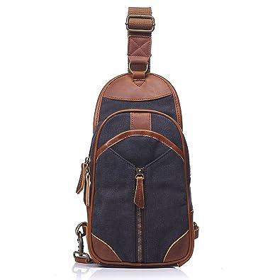 15ad0d997469 Vokul 斜めがけバッグ メンズ ボディバッグ 多機能 ワンショルダーバッグ 人気 ショルダーバッグ 鞄