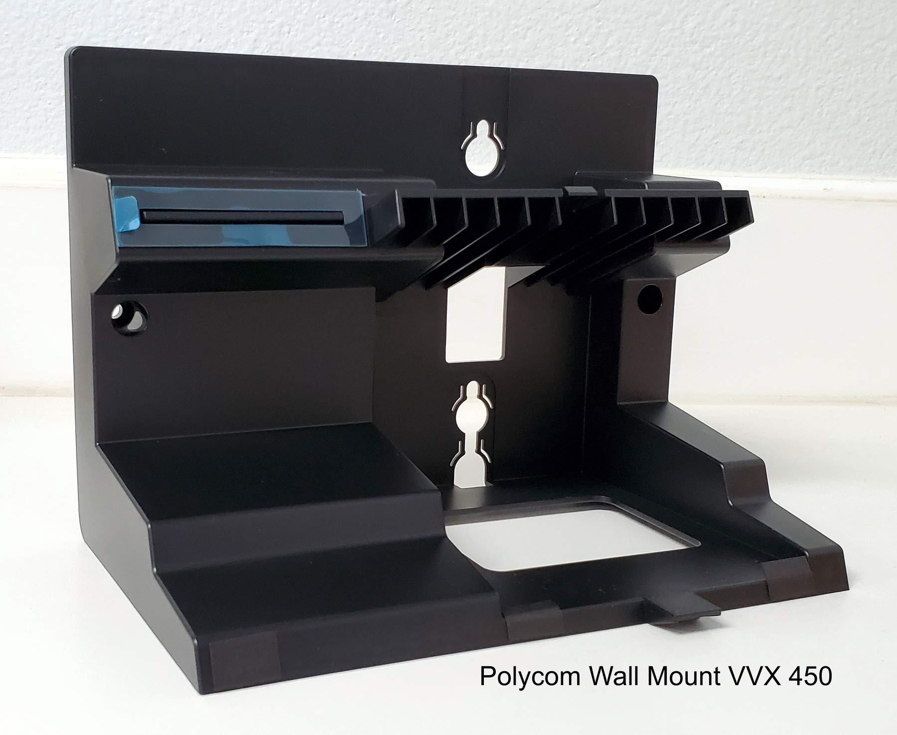 Polycom 2200-48843-001 Wall Mount Bracket for VVX 450 Phones by Polycom