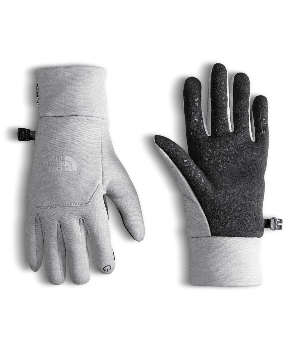 The North Face Women's Etip Glove (Sizes XS - L) - tnf light grey heather, xs