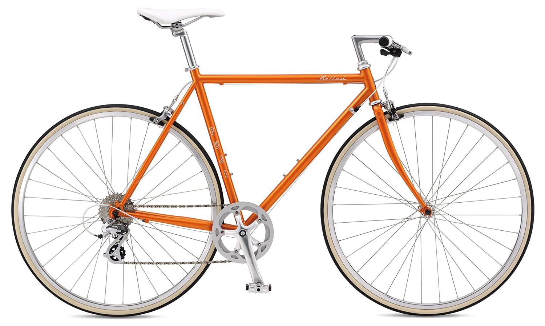 FUJI(フジ) BALLAD クロスバイク 2017年モデル サイズ568SPEED、クロモリフレーム、700Cキャロットオレンジ 17BALDOR56 B01LYX1WCQ