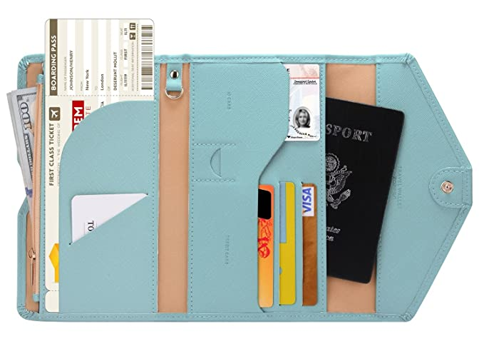 The Zoppen Travel Passport Wallet travel product recommended by Heidi Schmidt on Lifney.