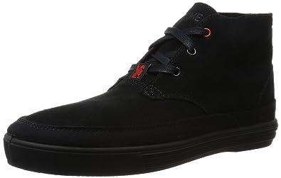 4f75e8d67 Chrome Unisex Suede Forged Chukka Black/Black Sneaker Men's 11, Women's  12.5 Medium